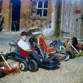 24 1960   Go Karts Donated By Chingford Round Table C1960
