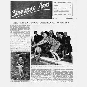 27 1963   The Offical Opening Of The New Pool By Mr. Pastry 1963